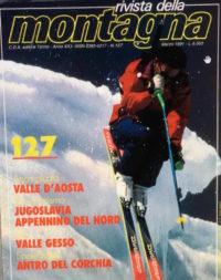 """L'Intervista di Andrea Plat su """"La Rivista della Montagna"""" Ed. Marzo 1991"""